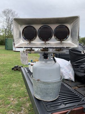 Propane tanks and heater burners for Sale in Murfreesboro, TN