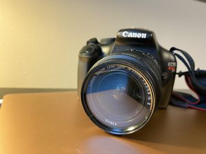 Canon EOS Rebel T3 with 18-55mm lens for Sale in Seattle, WA