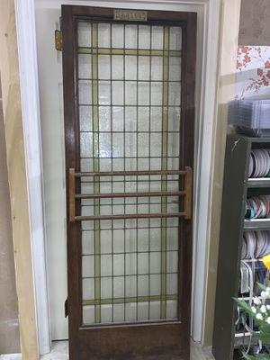Antique glass door for Sale in Sorrento, FL
