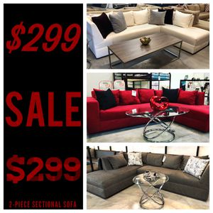 2PC Sectionals Starting At $299! for Sale in Miami, FL