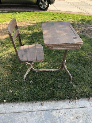 Antique school desk for Sale in Reedley, CA