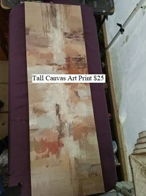 Tall Canvas Art Print $25 for Sale in Dresden, OH