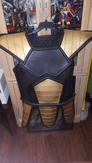 dragonball z saiyan armor cosplay for Sale in Belle Isle, FL