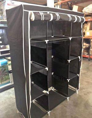 Black Portable Closet Organizer for Sale in Ontario, CA