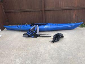 Necky Manitou Touring Kayak Fishing Paddle Life Jacket for Sale in Virginia Beach, VA