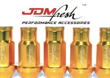 JDMFresh Gold Lug Nuts for Sale in Cedar Mill,  OR
