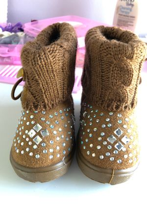 Toddler Girls size 1 boots for Sale in Gaithersburg, MD