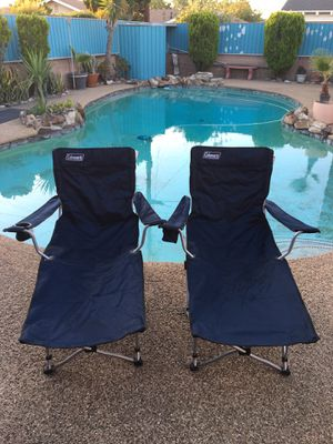 Coleman Foldable Lounge Chair for Sale in Anaheim, CA