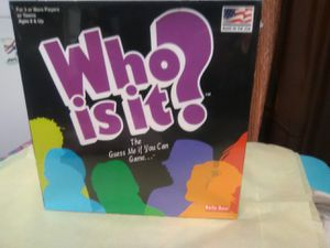 game who is it? for Sale in Saugus, MA