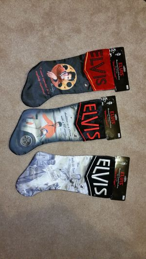 Elvis presley Illuminating and singing stockings for Sale in North Little Rock, AR