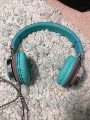 Teal headphones for Sale in Kennewick, WA