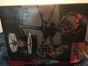 Star Wars black series tie fighter for Sale in Montclair, CA