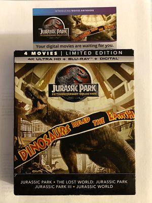 Jurassic Park 4k DIGITAL CODES ONLY for Sale in Downers Grove, IL