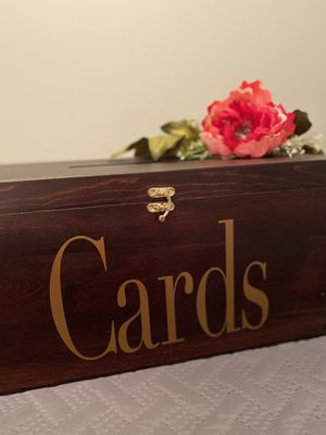 Card holder for weddings & parties for Sale in Eagle Mountain, UT
