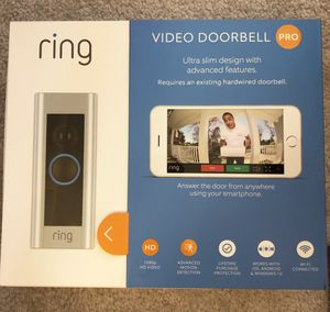 Brand new Ring video doorbell Pro for Sale in Arcadia, CA