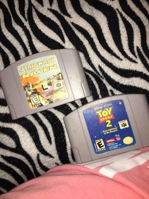 Nintendo 64 games for Sale in Dallas, TX