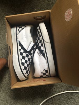 Toddler vans size 6 for Sale in Citra, FL
