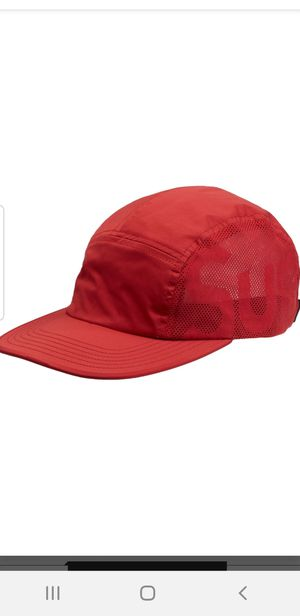 Supreme Sup Red Mesh Camp Cap one size fits all for Sale in Chicago, IL