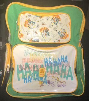 snoopy peanuts Jumbo backpack for Sale in Yorba Linda, CA