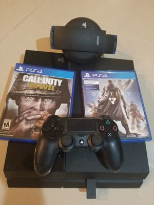 Ps4, headphones and two games!! for Sale in Hollywood, FL