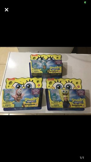 3 new inflatable sponge bob hats for Sale in Cape Coral, FL