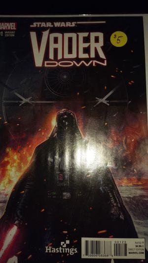 Star Wars Darth Vader w/ Vader Down 001 Hastings Variant for Sale in Jacksonville, FL