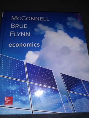 Economics by McConnell Brue Flynn 21st Edition for Sale in Modesto, CA