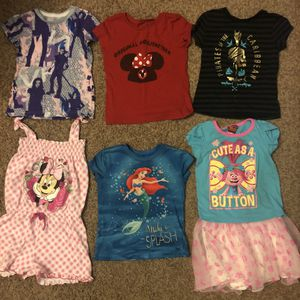Disney Girls Clothes Size 4T for Sale in El Monte, CA