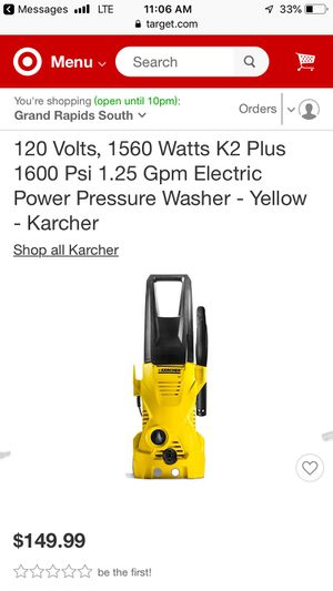 Power pressure washer for Sale in Olney, MD
