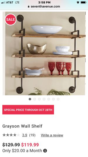 Grayson wall shelves for Sale in Florissant, MO