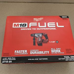 New Milwaukee rotary hammer drill for Sale in Haverhill, MA