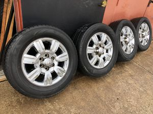 Ford F  Truck Or Suv Used Rims Wheels Chrome  Inch Factory Inch