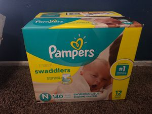Pampers newborn diapers for Sale in Norwalk, CA