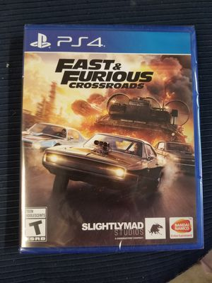 Fast & Furious Crossroads PS4 for Sale in Aurora, CO