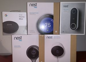 NEST Cams and Thermostat Set for Sale in Altamonte Springs, FL