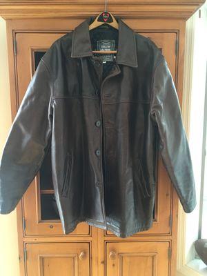 Men's Leather Coat for Sale in Leesburg, VA