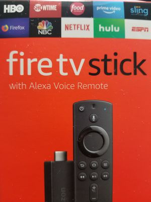 Brand New Amazon Fire TV Sticks with Alexa Remote (Unlocked and Jailbroken) for Sale in Indianapolis, IN