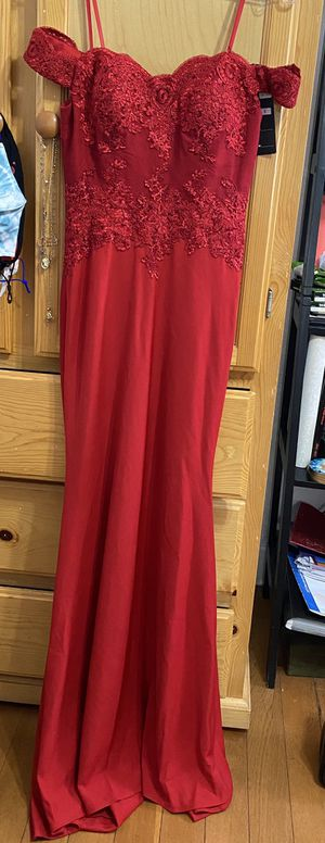 Red Prom Dress/ Elegant Gown for Sale in Vernon, CA