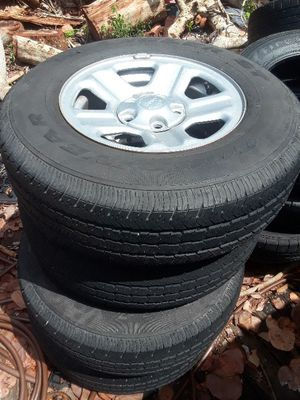 4 Goodyear tires with rims for Sale in Lantana, FL