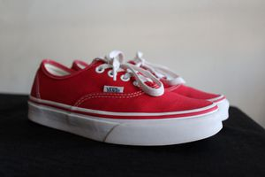 Red Vans Shoes for Sale in Austin, TX