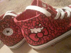 Hello kitty converse for Sale in San Antonio, TX