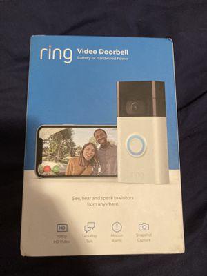 Ring video doorbell for Sale in Windsor, CT