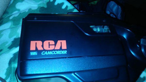 RCA video recorder camera