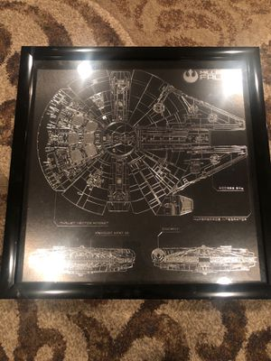 Star Wars picture/frame for Sale in Chino, CA