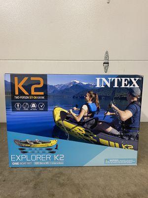 Intex Explorer K2 Kayak - DMV area for Sale in Ashburn, VA