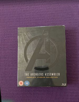 Avengers Assembled 4 movie Collection [Blu Ray] [Region Free] New 1-4 Set Marvel for Sale in Walnut, CA