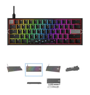 HyperX x Ducky One 2 Mini RGB Mechanical Gaming Keyboard for Sale in Dallas, TX