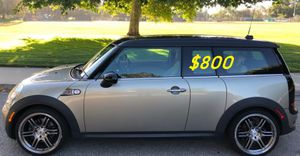 $800 URGENT!I Selling 2009 MINI Cooper Clubman S,Very clean!Clean Tittle! Runs and drives great.Nice family car!one owner! for Sale in Long Beach, CA