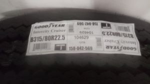 Goodyear tire b315/80r22.5 for Sale in Los Angeles, CA