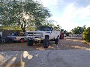 1986 Chevy K20 Utility Truck for Sale in Glendale, AZ